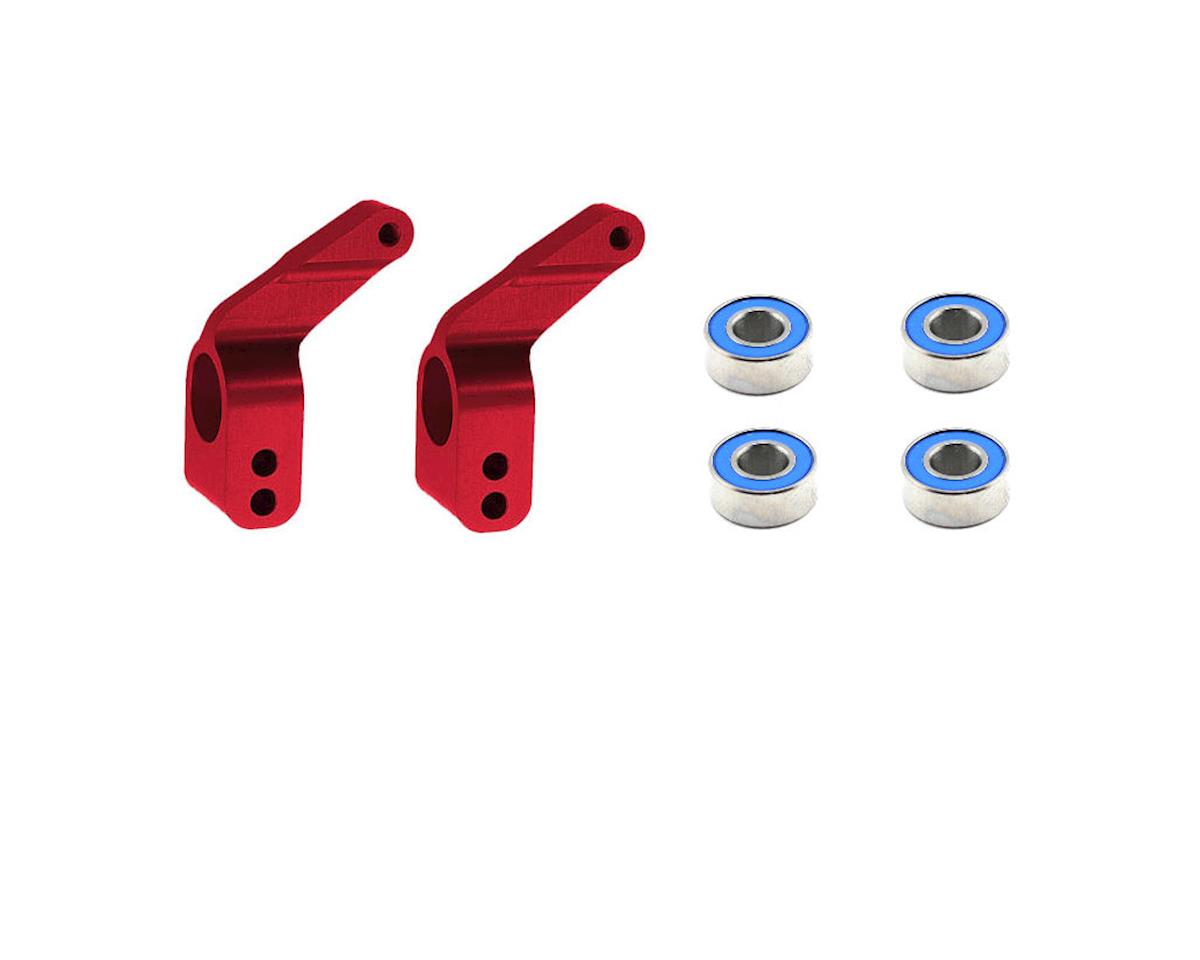 Aluminum Stub Axle Carriers (Red) (4) by Traxxas