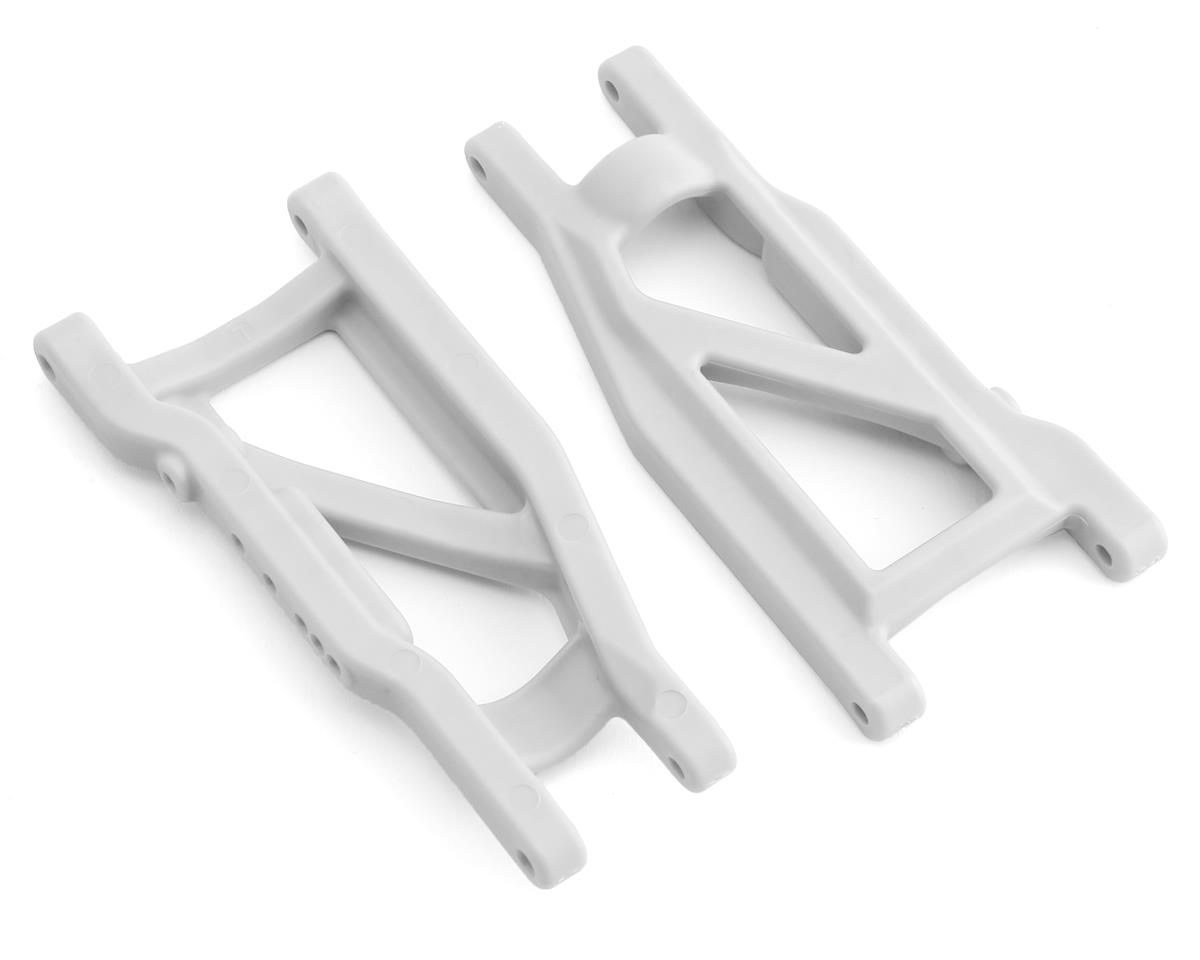 Traxxas Rustler 4X4 HD Cold Weather Suspension Arm Set (White)