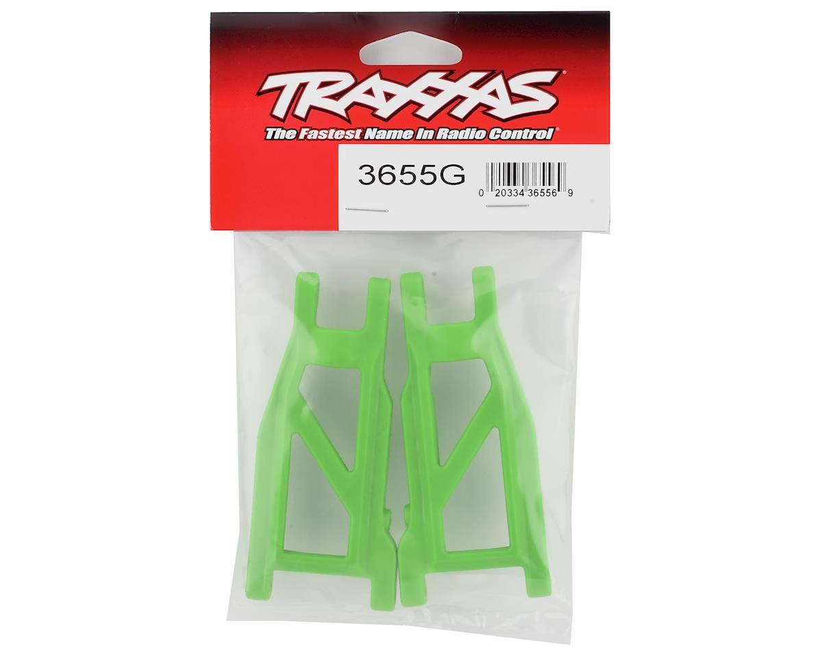 Traxxas Rustler 4X4 HD Cold Weather Suspension Arm Set (Green)