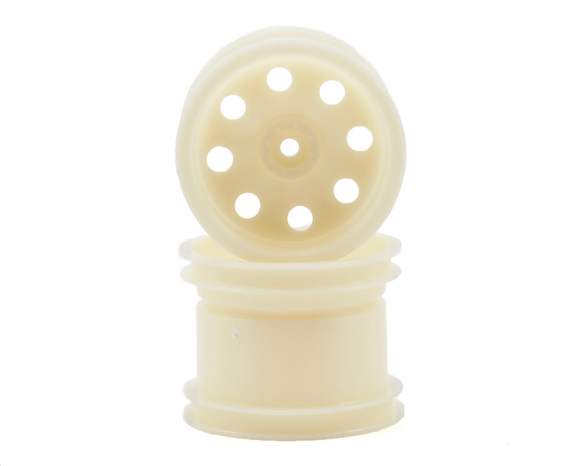 "12mm Hex 2.2"" Rear Stadium Truck Wheel (2) (Dyeable White) by Traxxas"