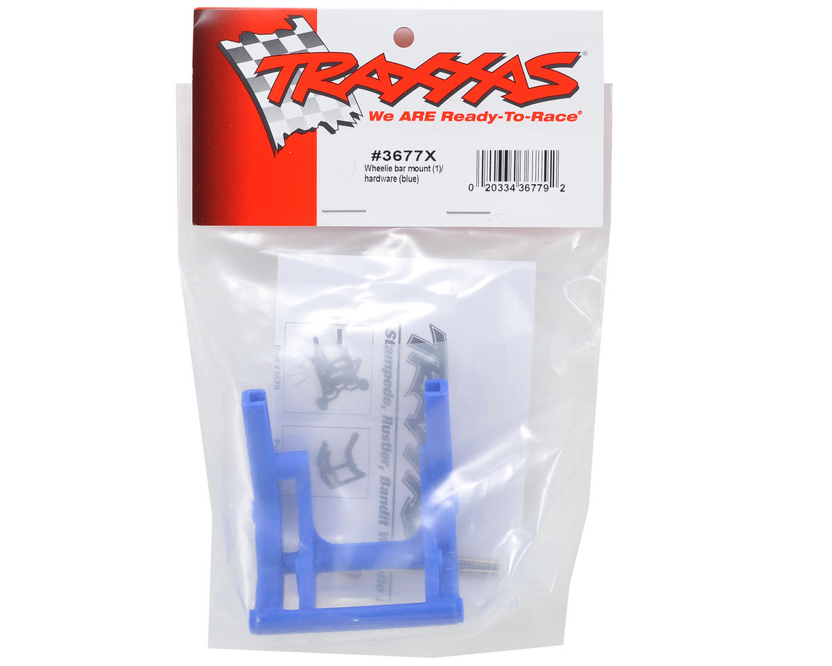 Traxxas Wheelie Bar Mount (Blue) (Son-uva Digger)