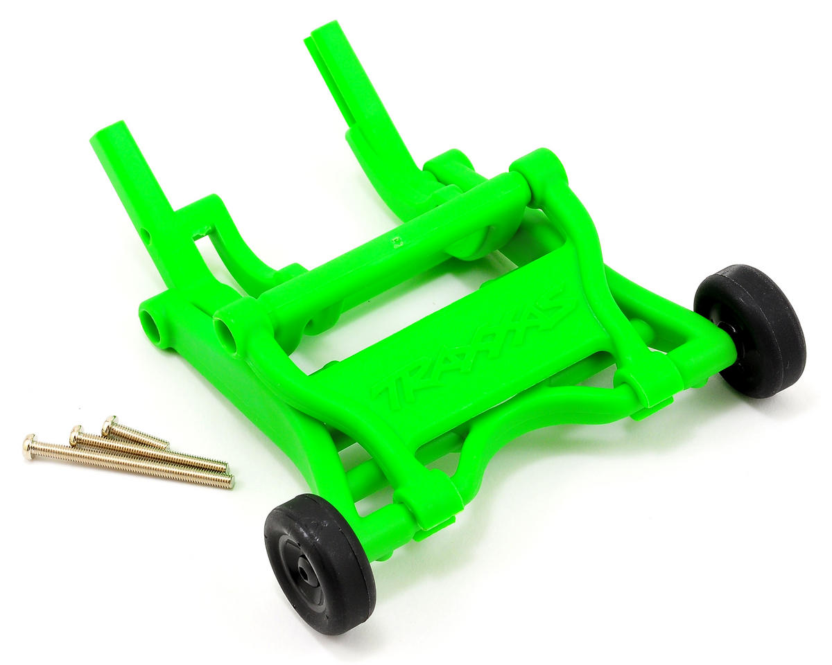 Wheelie Bar Assembly (Green) (Grave Digger) by Traxxas