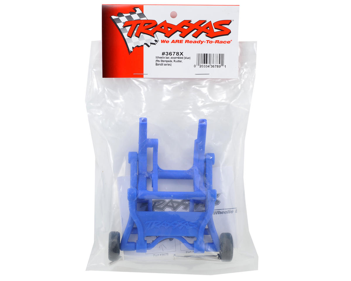Wheelie Bar Assembled (Blue) (Son-uva Digger) by Traxxas