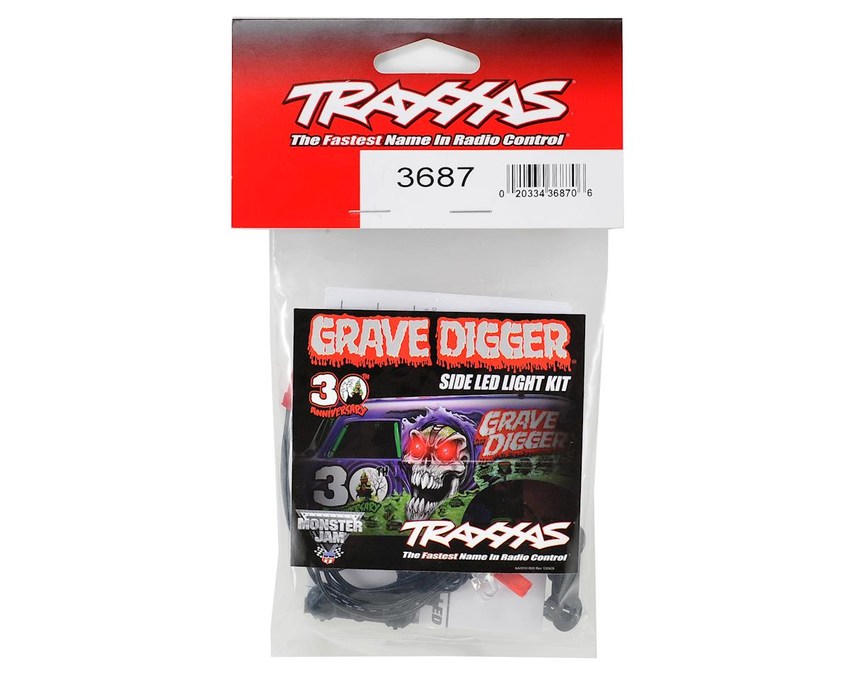 Traxxas 30th Anniversary Grave Digger LED Side Light Set