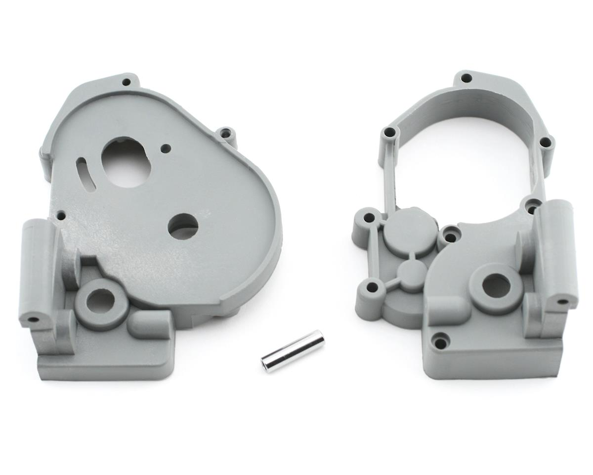 Gearbox Halves w/Idler Shaft (Gray) by Traxxas