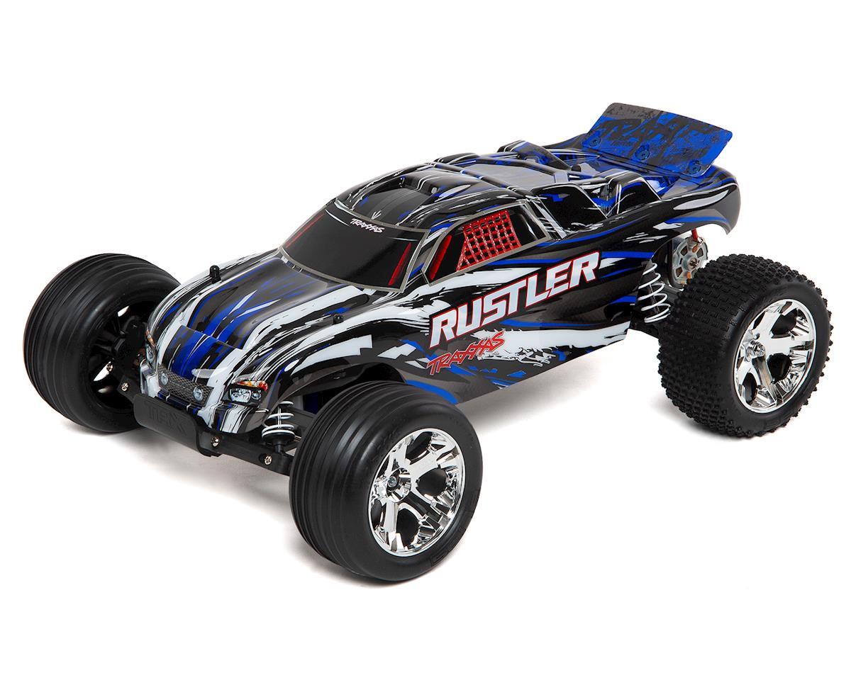 Traxxas Rustler TRX37054-1-BLUEX