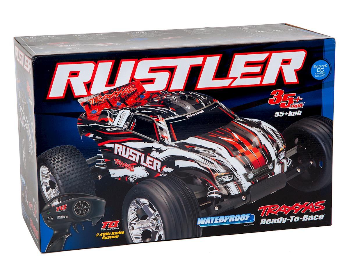 Traxxas Rustler 1/10 RTR Stadium Truck (Blue)