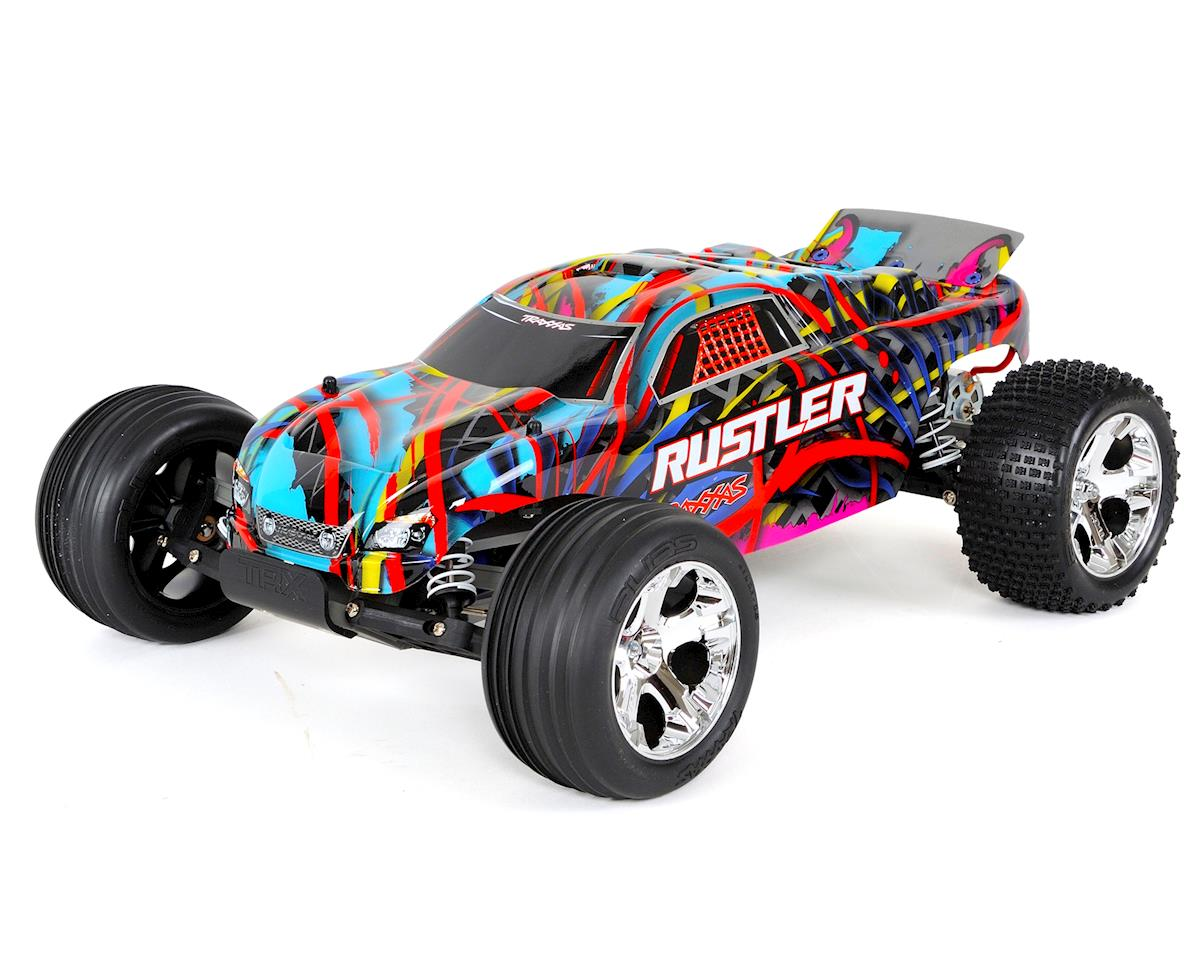 Rustler 1/10 RTR Stadium Truck (Hawaiian Edition) by Traxxas