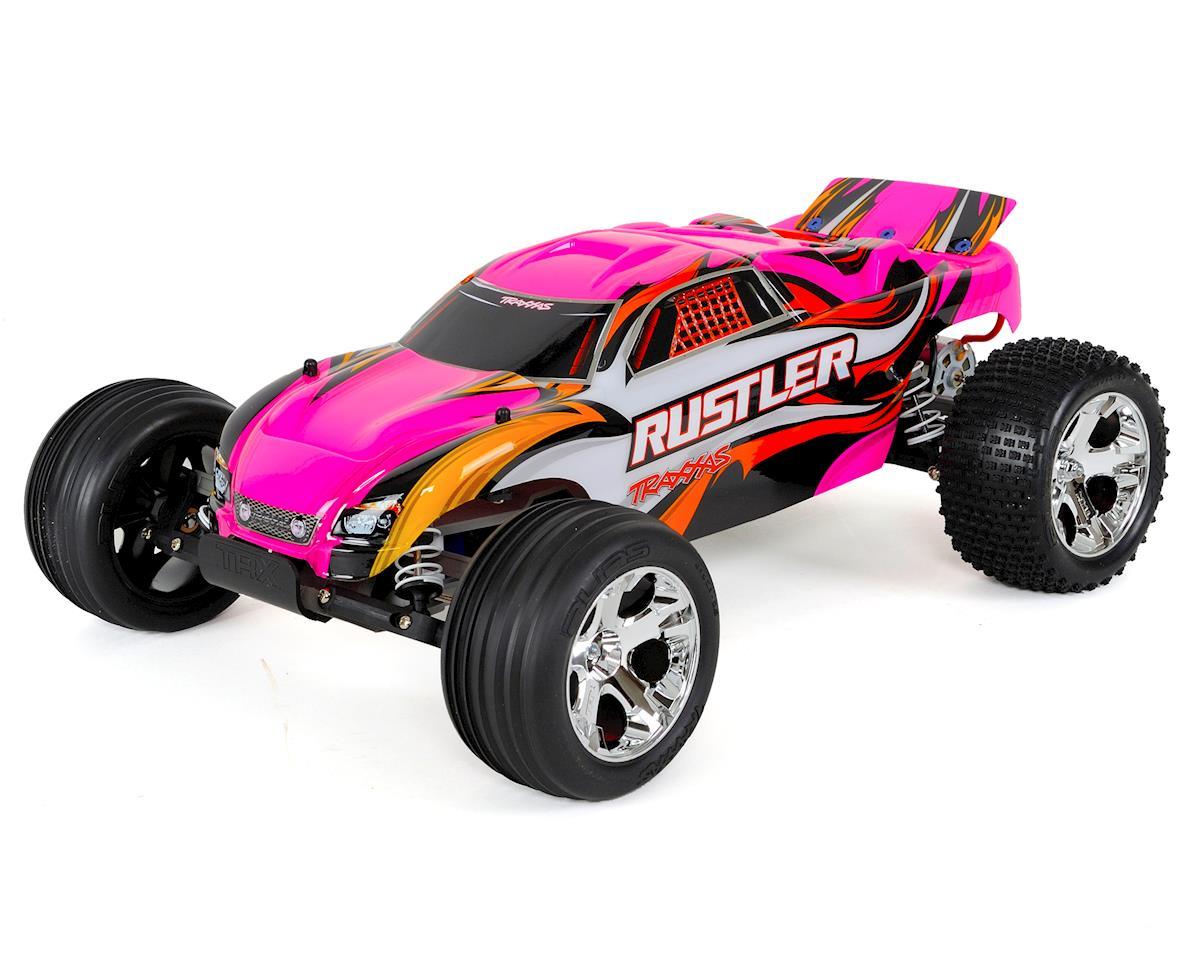 Traxxas Rustler 1/10 RTR Stadium Truck (Pink)