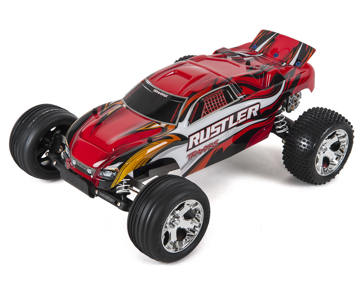 Rustler 1/10 RTR Stadium Truck (Red) by Traxxas