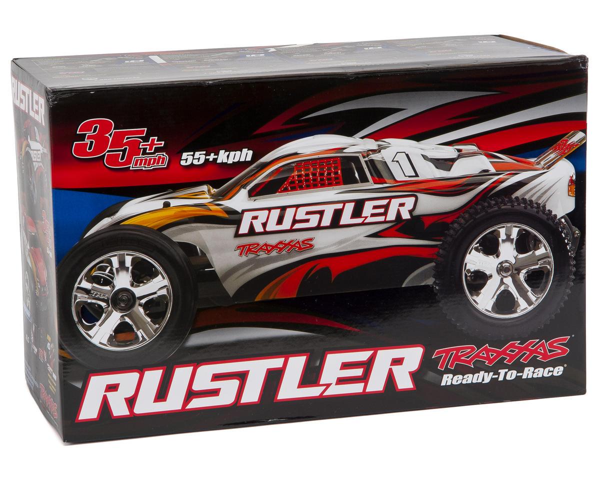 Traxxas Rustler 1/10 RTR Stadium Truck (White)