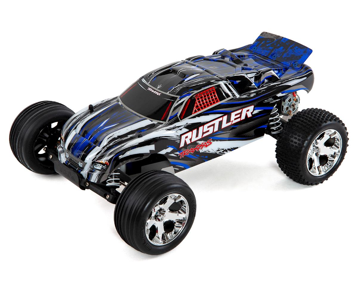 Rustler 1/10 RTR 2WD Electric Stadium Truck (Blue) by Traxxas