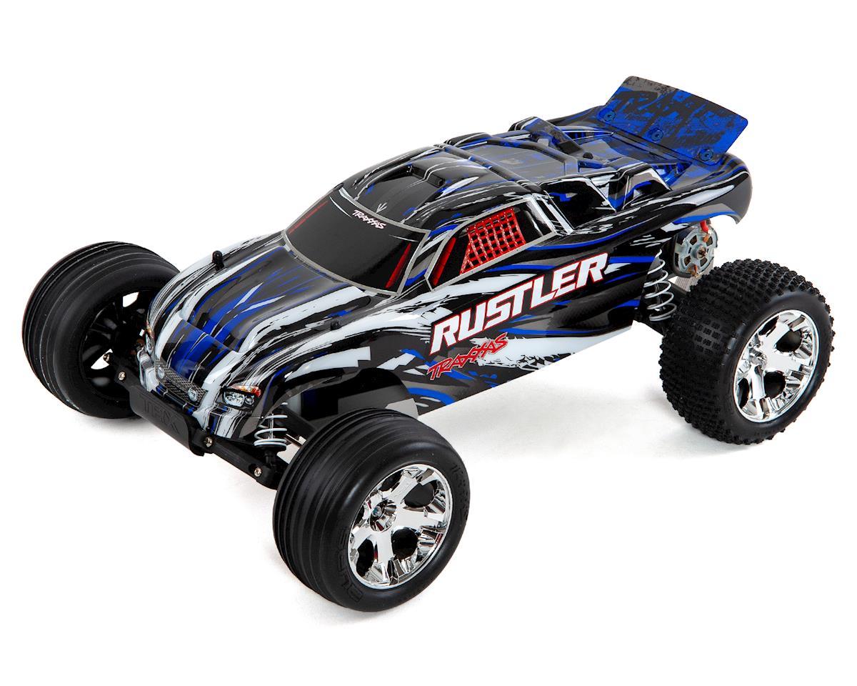 Traxxas Rustler 1/10 RTR 2WD Electric Stadium Truck (Blue)