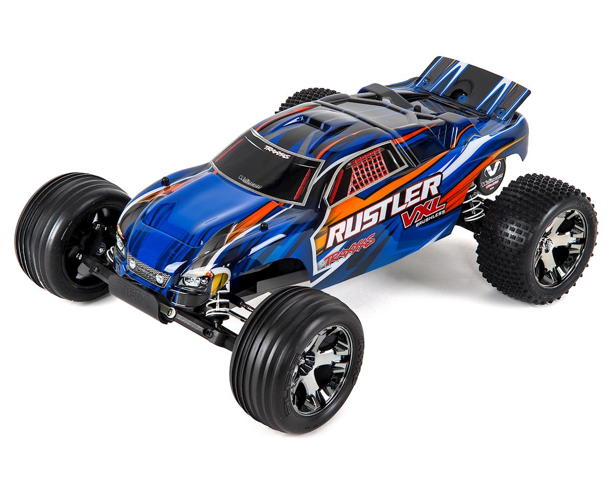 Rustler VXL Brushless 1/10 RTR Stadium Truck (Blue) by Traxxas