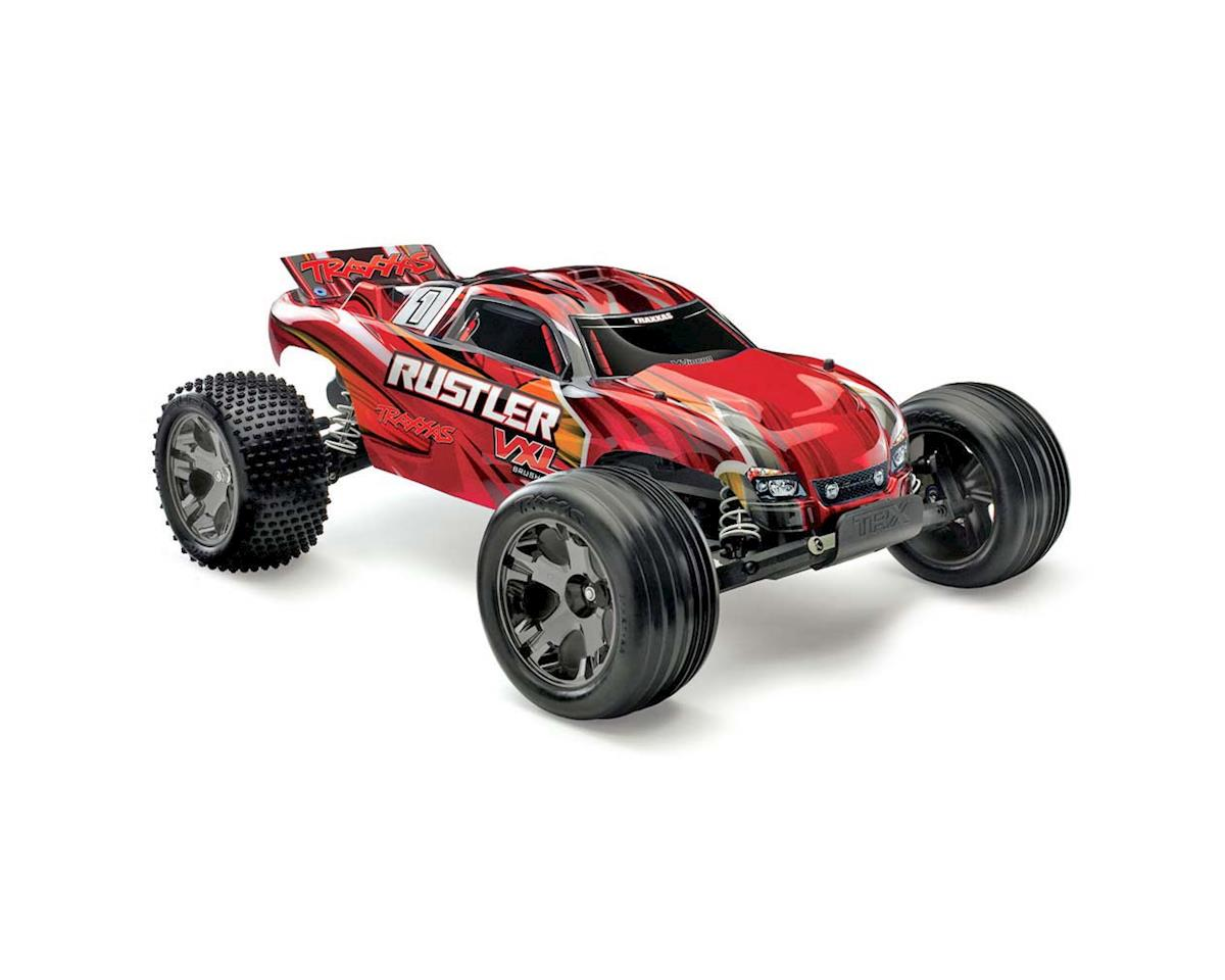 Rustler VXL Brushless 1/10 RTR Stadium Truck (Red)