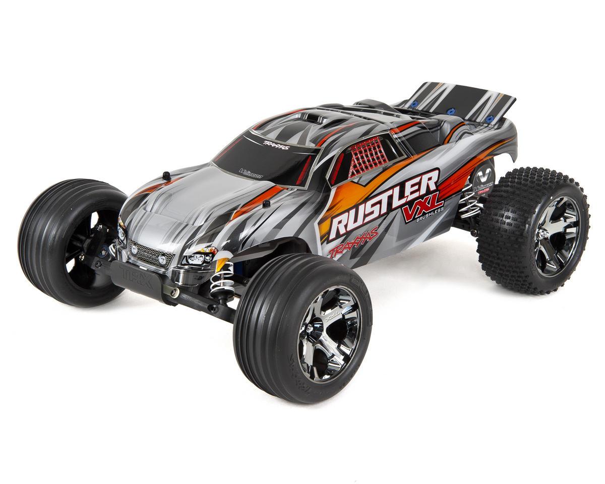 Traxxas Rustler VXL Brushless 1/10 RTR Stadium Truck (Silver)