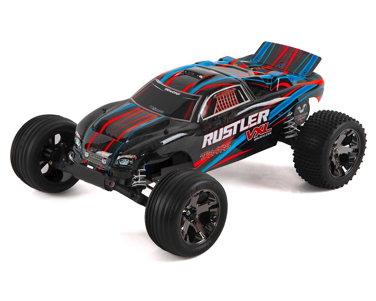 Rustler VXL Brushless 1/10 RTR Stadium Truck (Red) by Traxxas