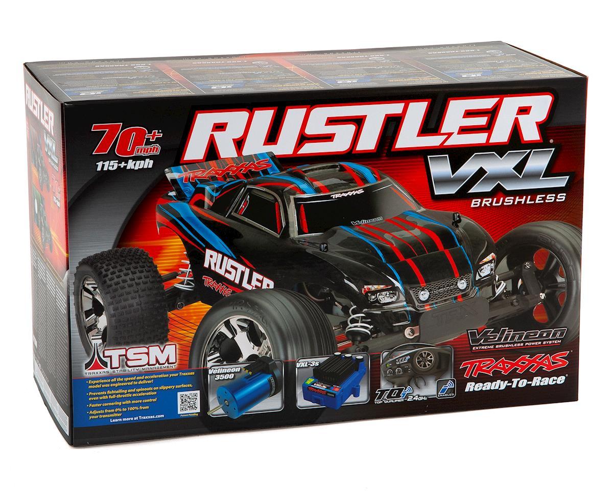 Traxxas Rustler VXL Brushless 1/10 RTR Stadium Truck (Red)