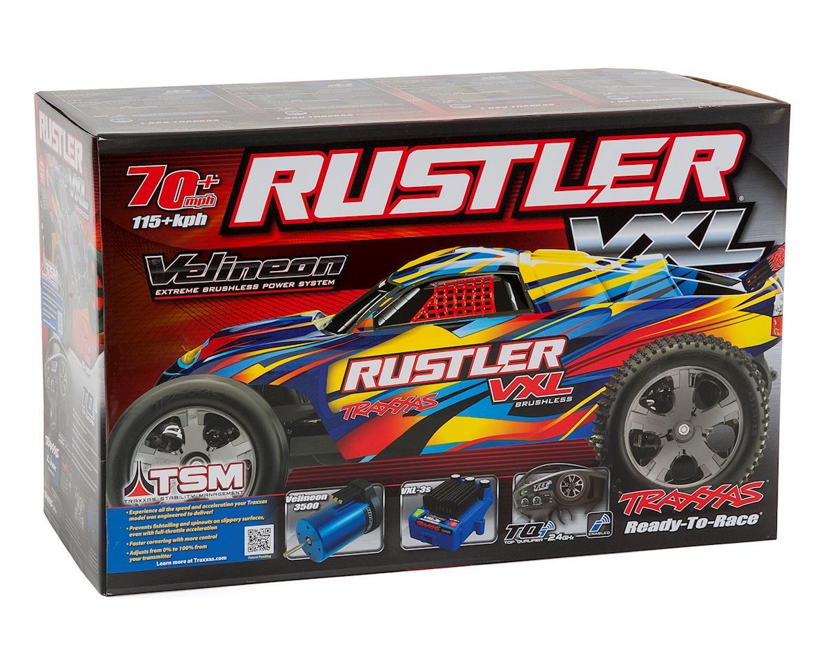 Traxxas Rustler VXL Brushless 1/10 RTR Stadium Truck (Rock n Roll)