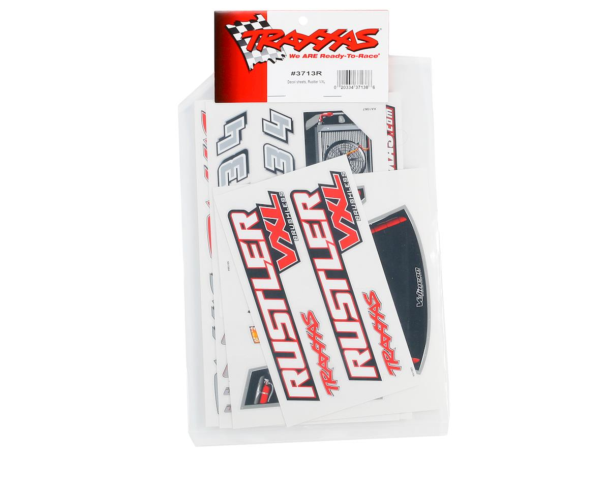 Traxxas Rustler VXL Decal Sheet (2)
