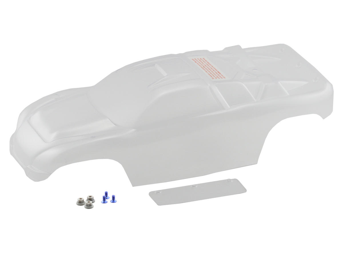 Rustler VXL Body (Clear) by Traxxas