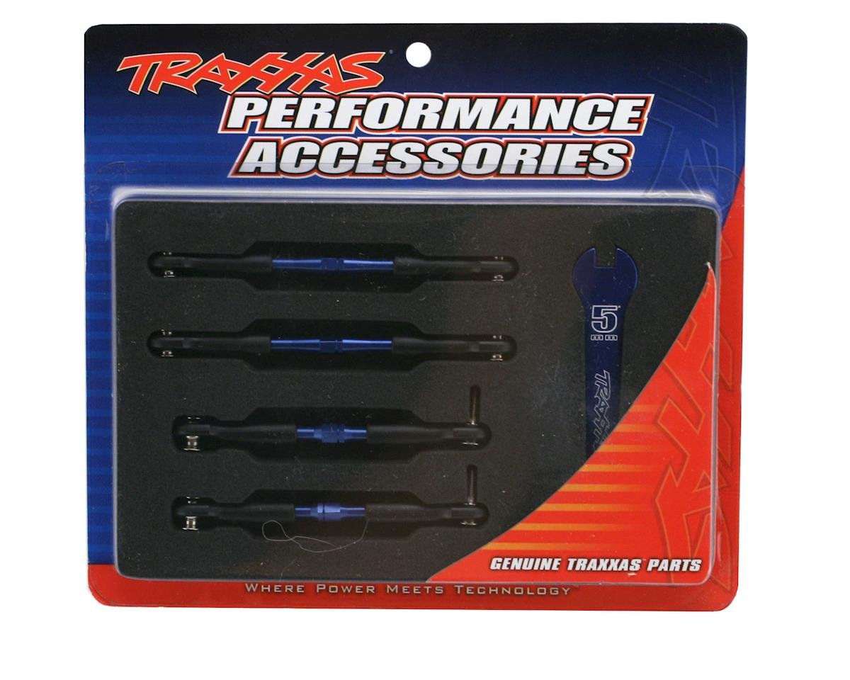 Traxxas Aluminum Turnbuckle Camber Link Set (Blue) (4)