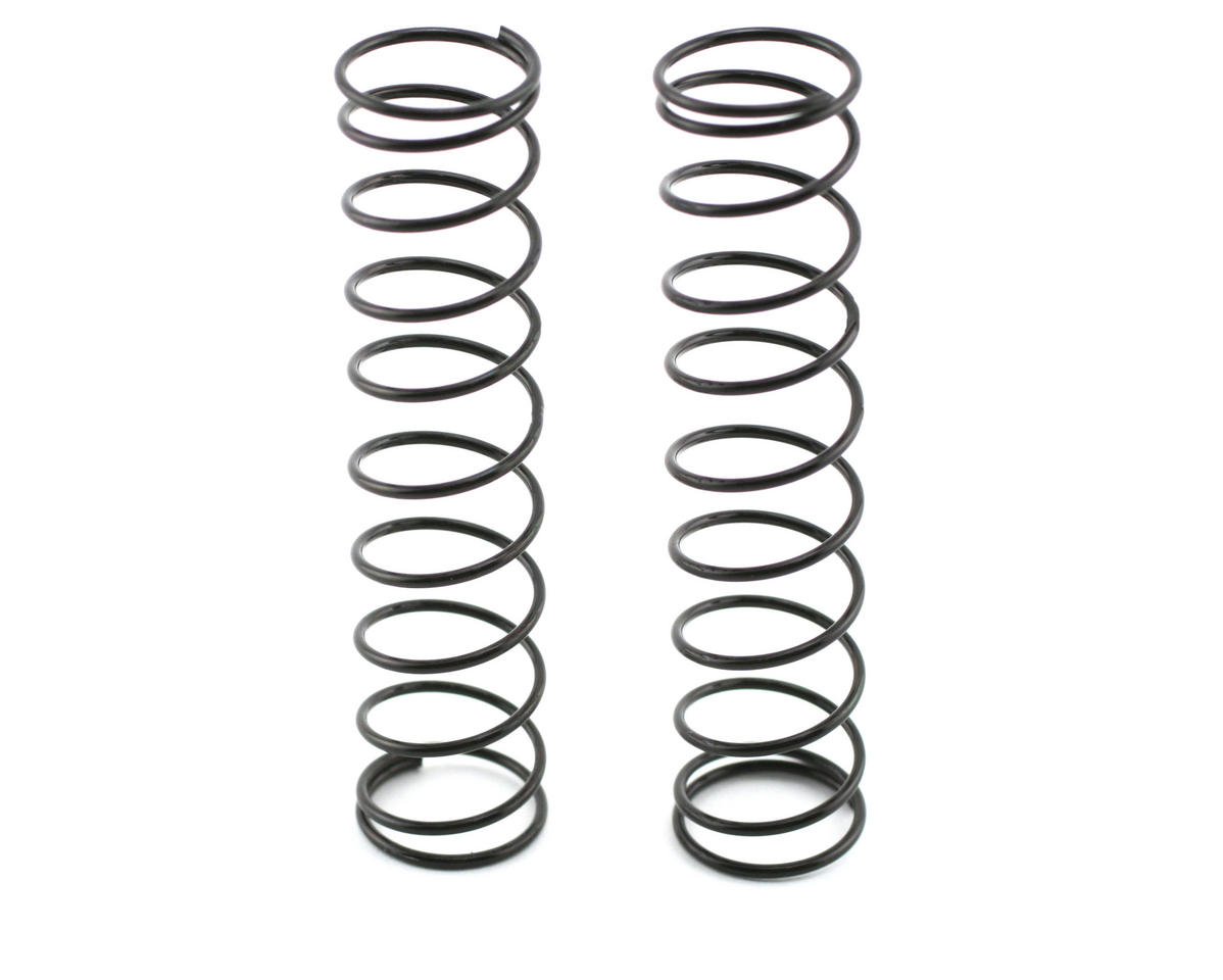 Traxxas Rear Shock Spring Set (Black) (2)