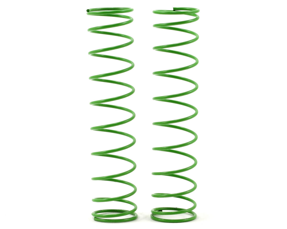 Traxxas Rear Shock Spring Set (Green) (2) (Grave Digger)
