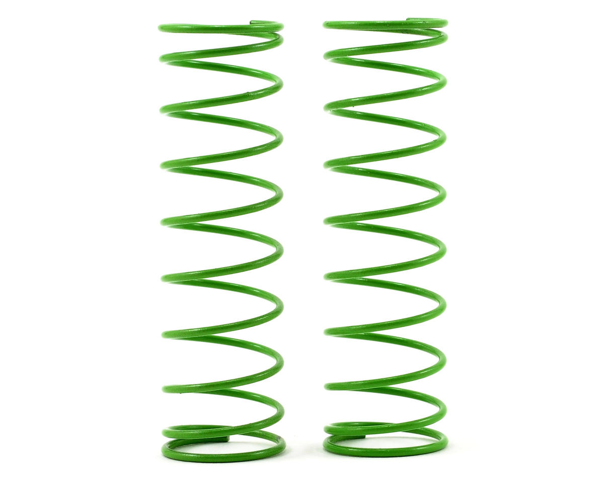 Front Shock Spring Set (Green) (2) (Grave Digger) by Traxxas
