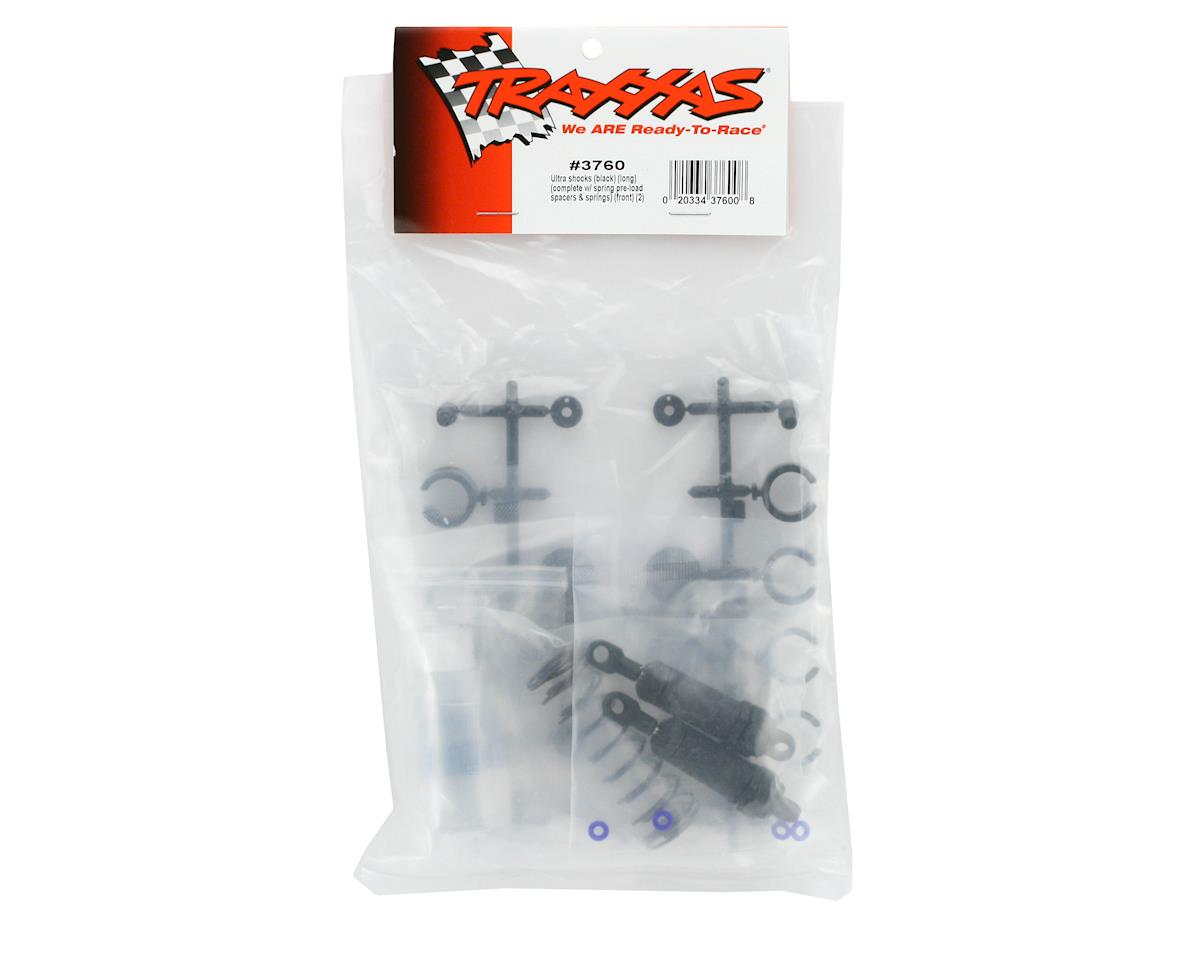 Traxxas Ultra Shocks (Long) (Black) (2)