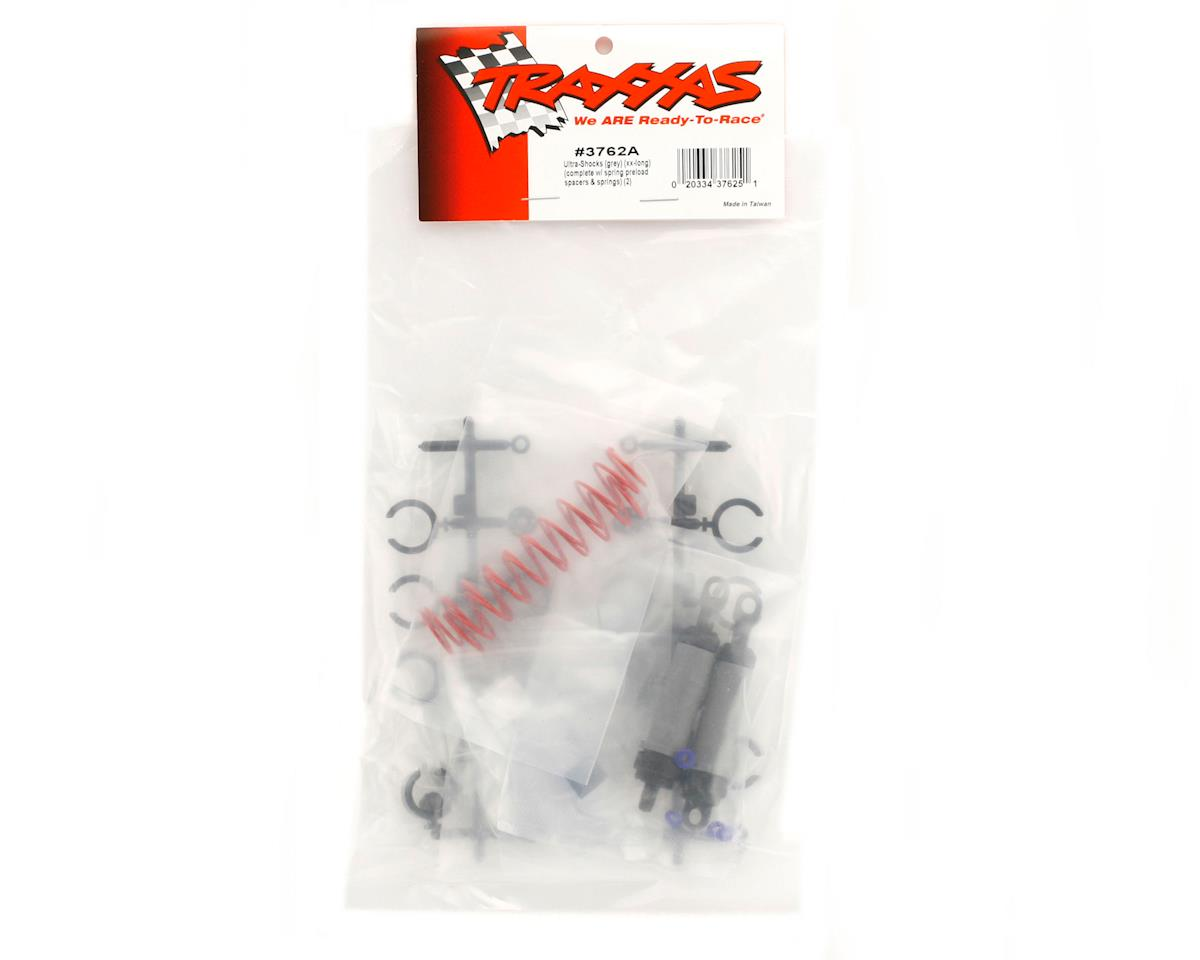 Traxxas Ultra Shocks (XX-Long) (Grey) (2)