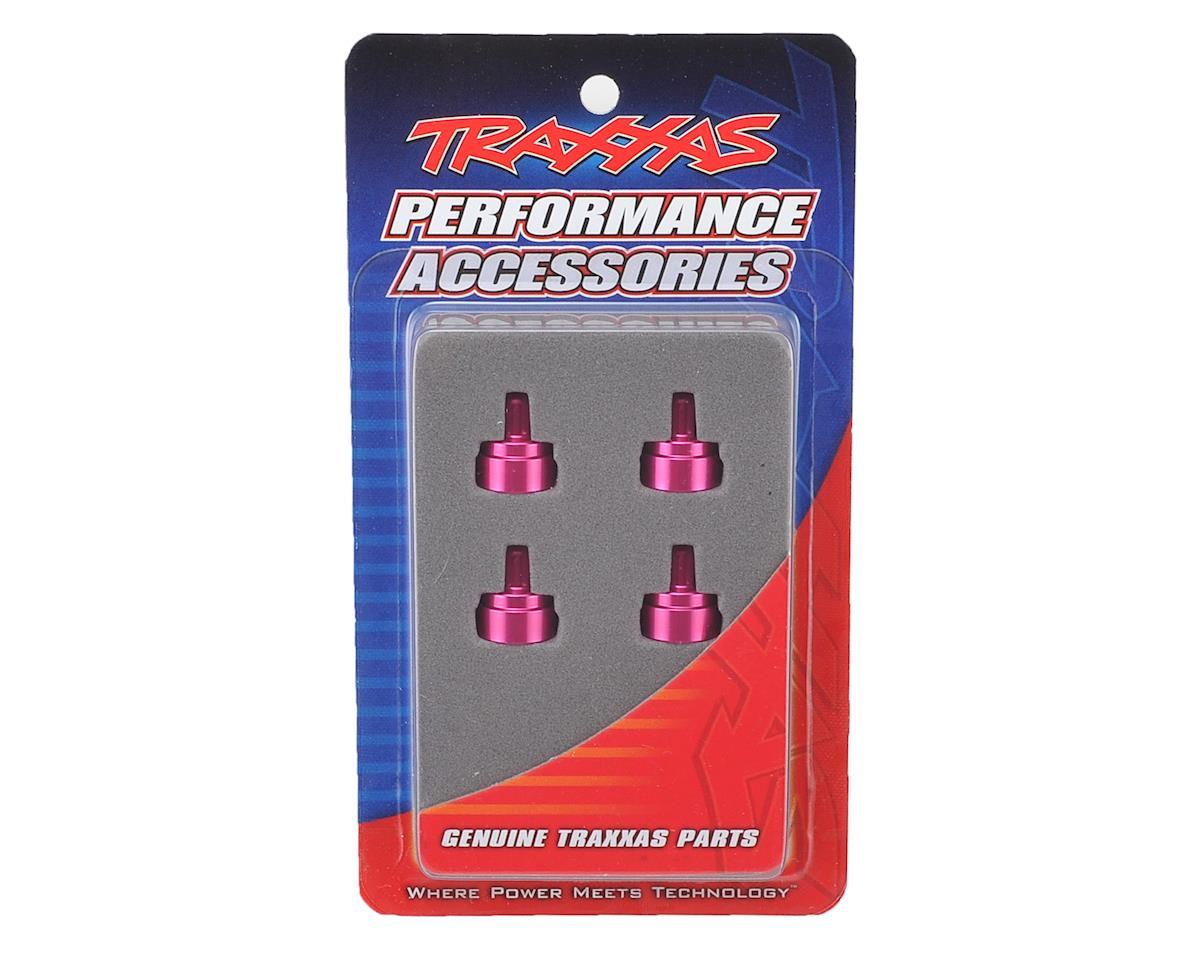 Traxxas Aluminum Ultra Shock Cap (Pink) (4)