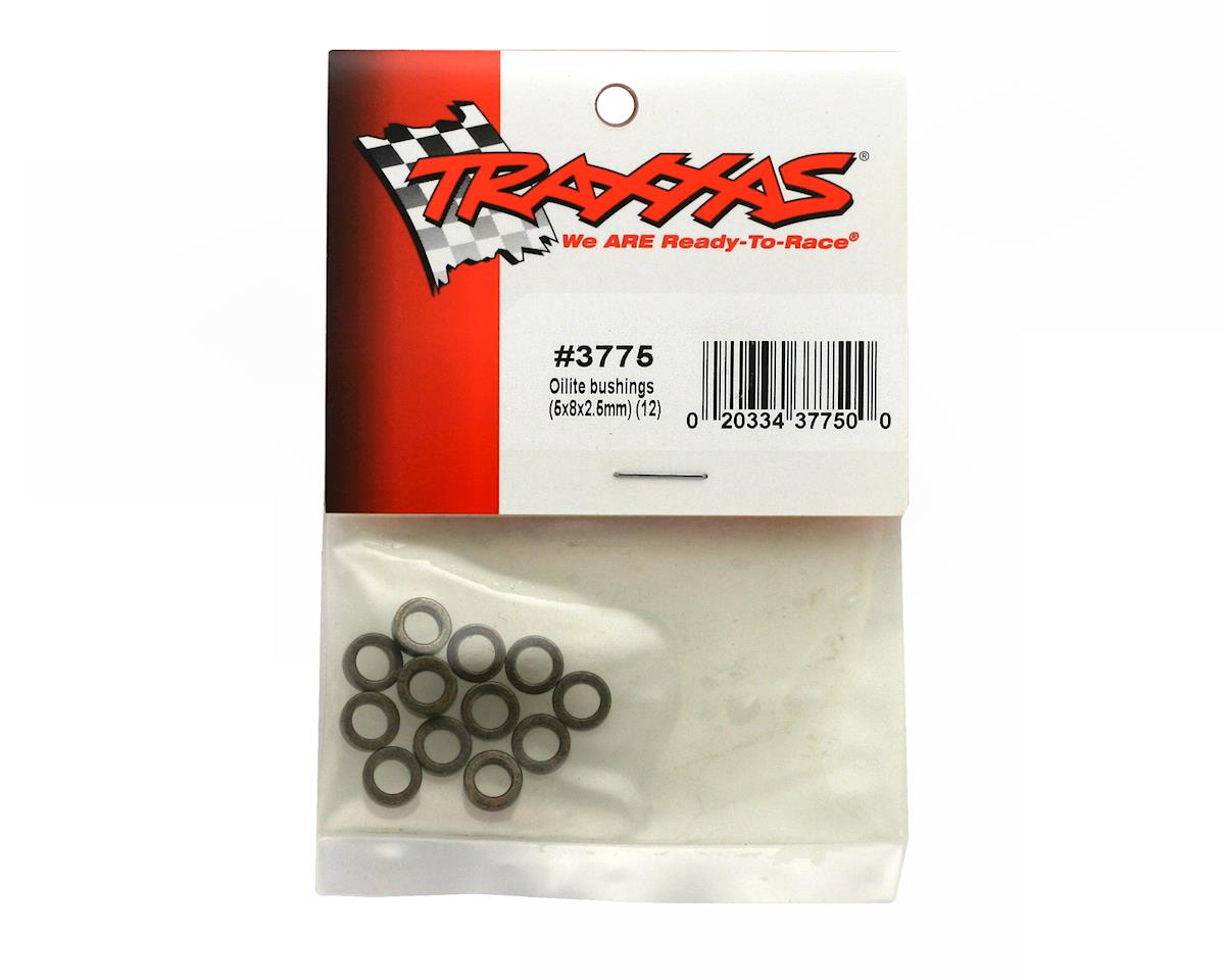 Traxxas Oilite Bushings, 5x8x2.5mm (12)