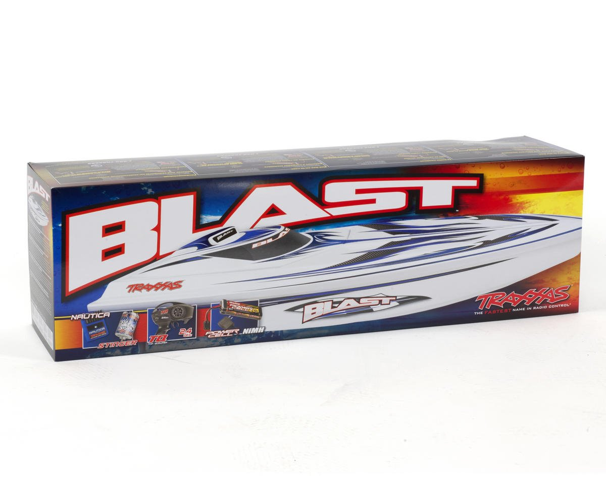 Traxxas Blast RTR High Performance Electric Race Boat w/TQ 2.4GHz Radio