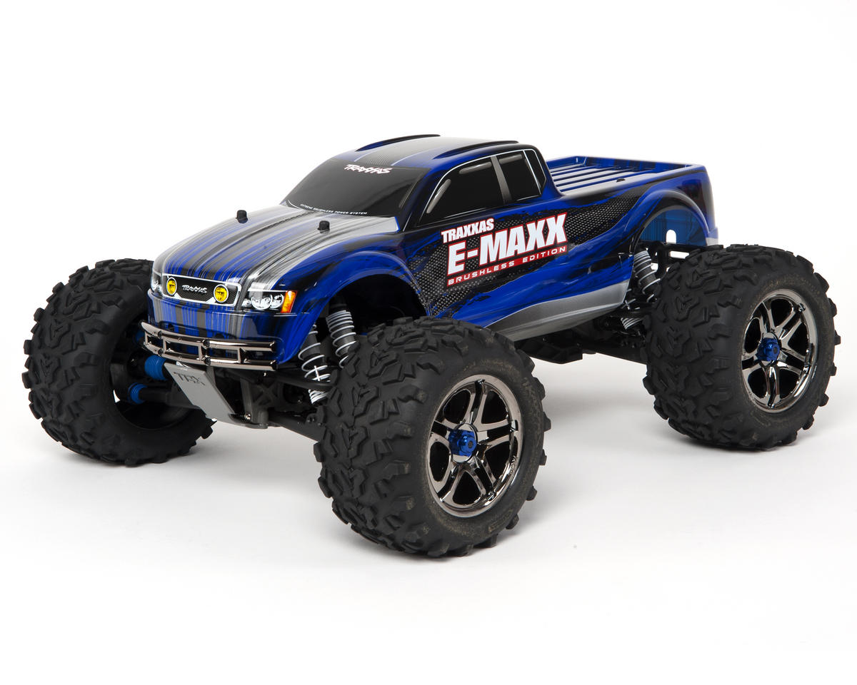 Traxxas E-Maxx Brushless RTR Monster Truck w/TQi 2.4GHz, Docking Base, MXL-6s ES