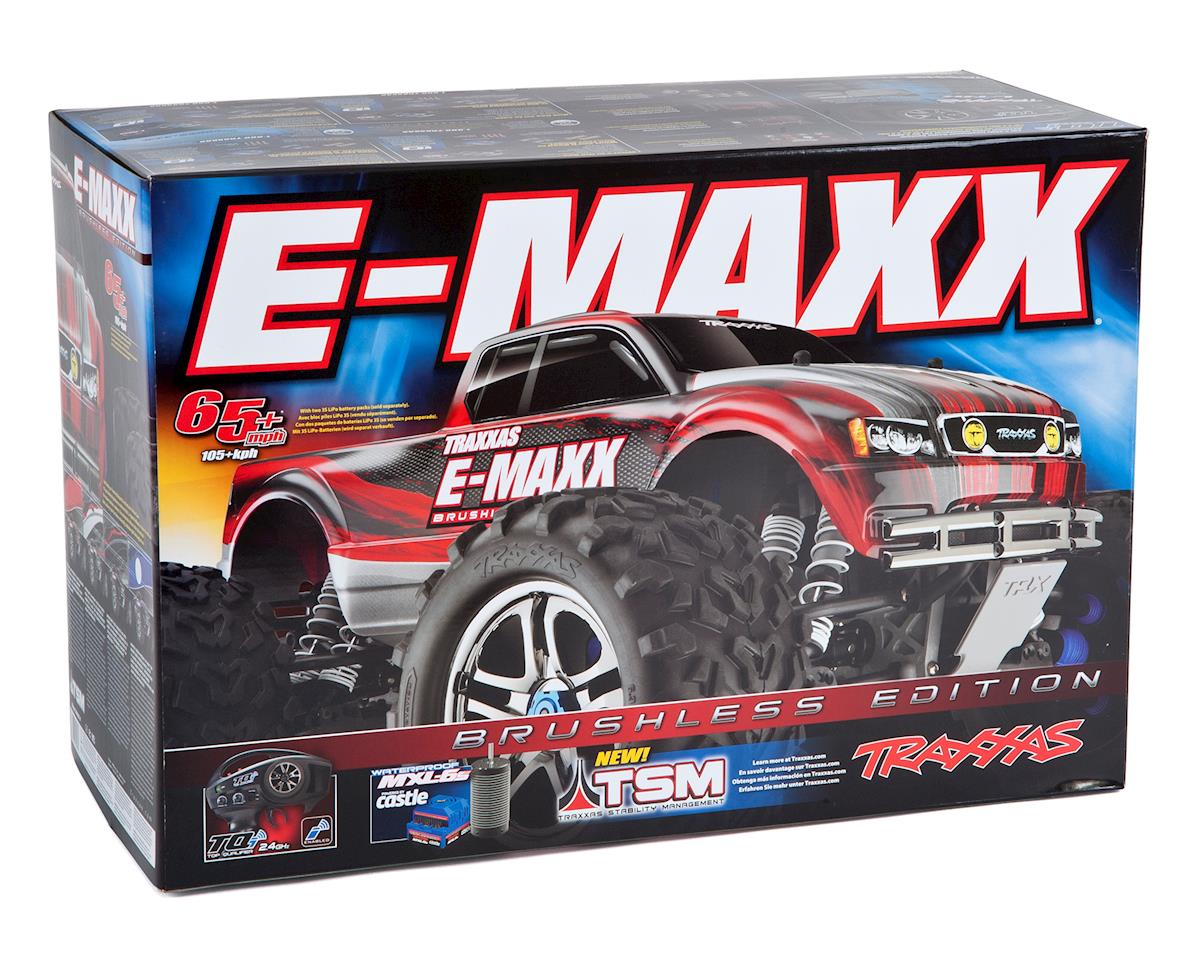 Traxxas E-Maxx RTR Brushless 4WD Monster Truck (Black)