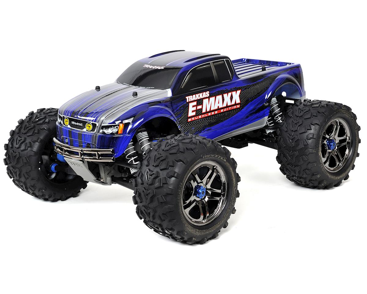 Traxxas E-Maxx RTR Brushless 4WD Monster Truck (Blue)