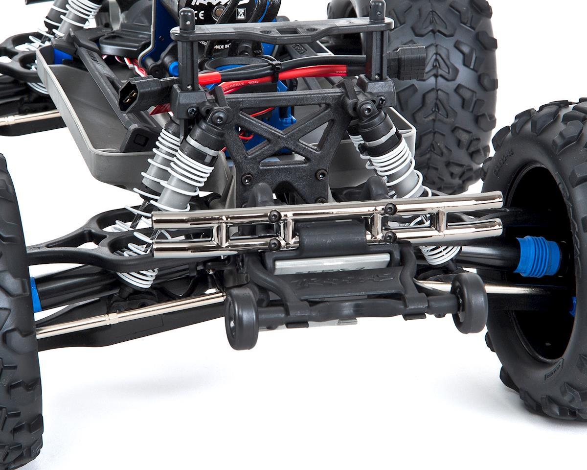 Traxxas E-Maxx RTR Brushless 4WD Monster Truck (Blue) w/TQi 2 4GHz Radio &  TSM