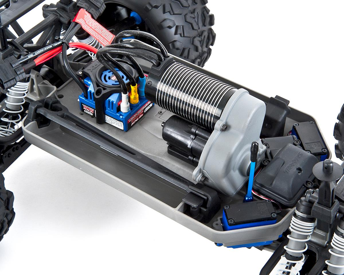 E-Maxx RTR Brushless 4WD Monster Truck (Blue) by Traxxas