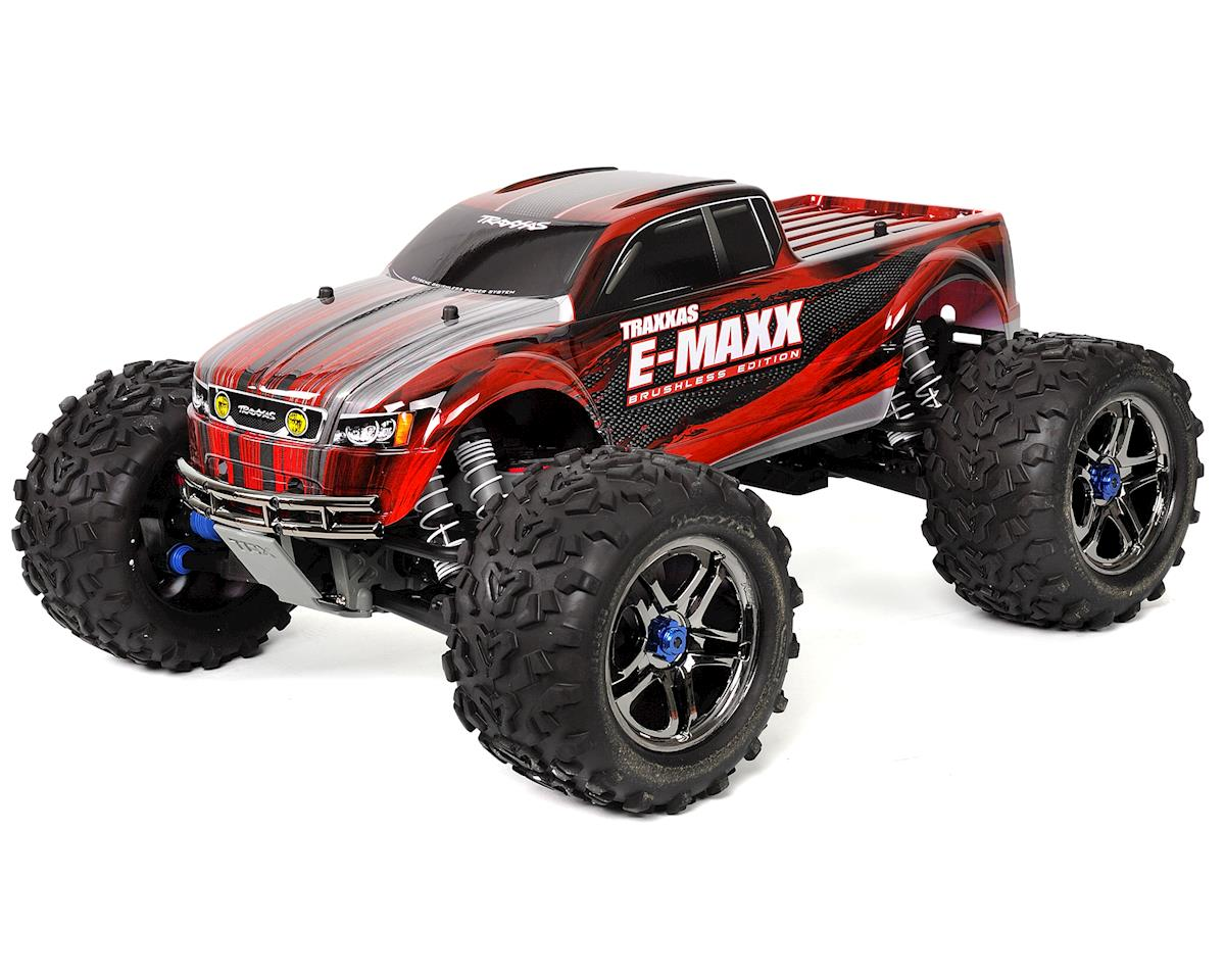 Traxxas E-Maxx RTR Brushless 4WD Monster Truck (Red)