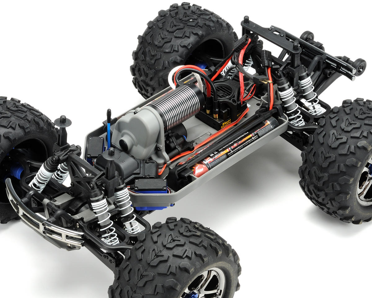 Traxxas E-Maxx Brushless RTR Monster Truck w/TQi 2.4GHz Radio & Traxxas Link Wir