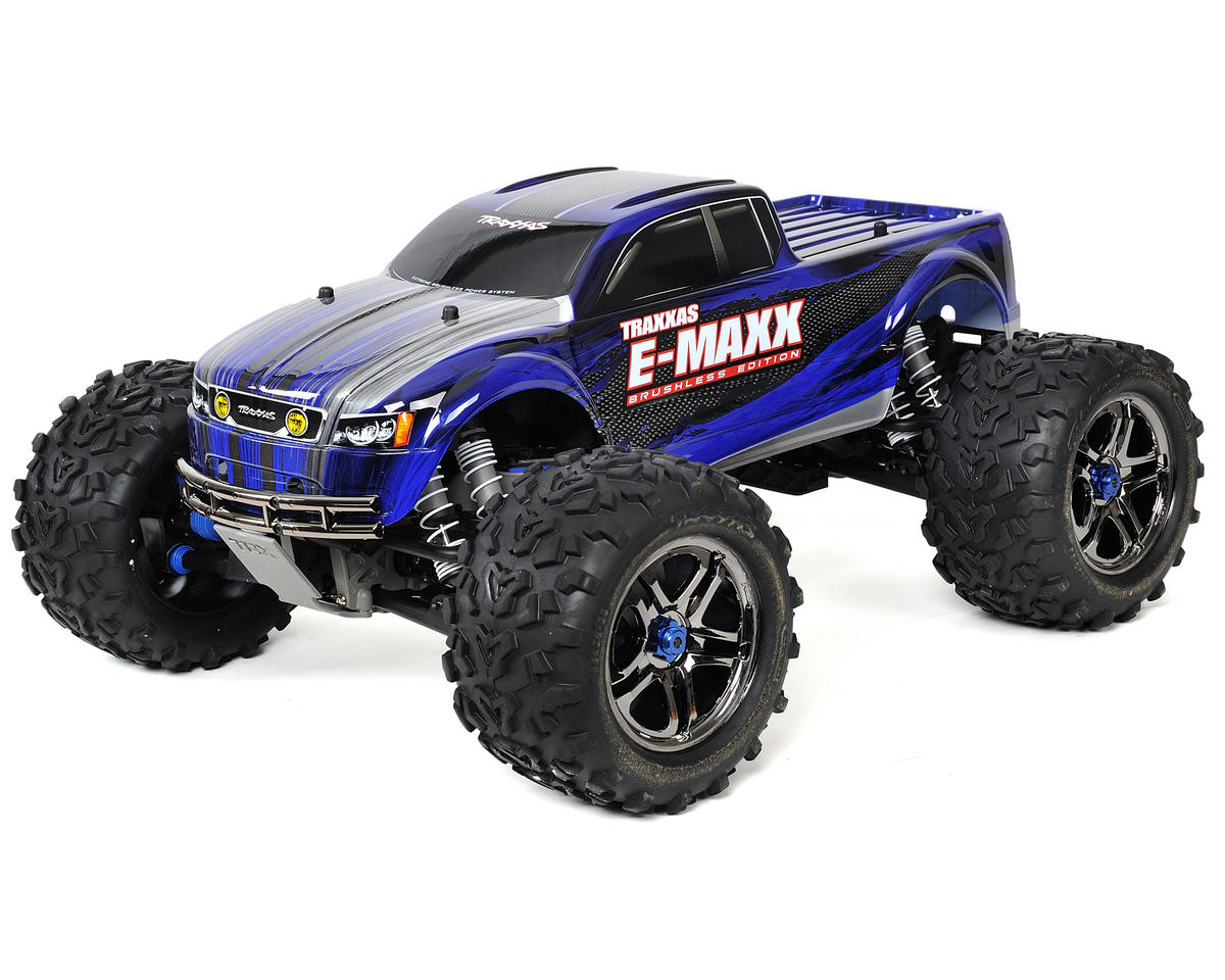 Traxxas E-Maxx Brushless RTR Monster Truck w/TQi 2.4GHz, Castle Mamba, LiPos & C