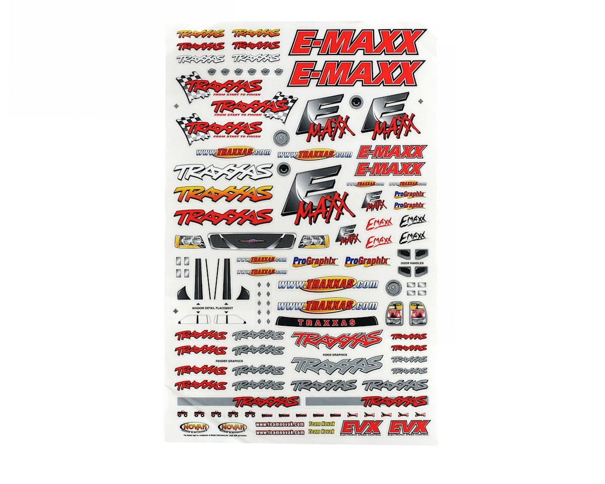 Traxxas E-Maxx Decal Sheet