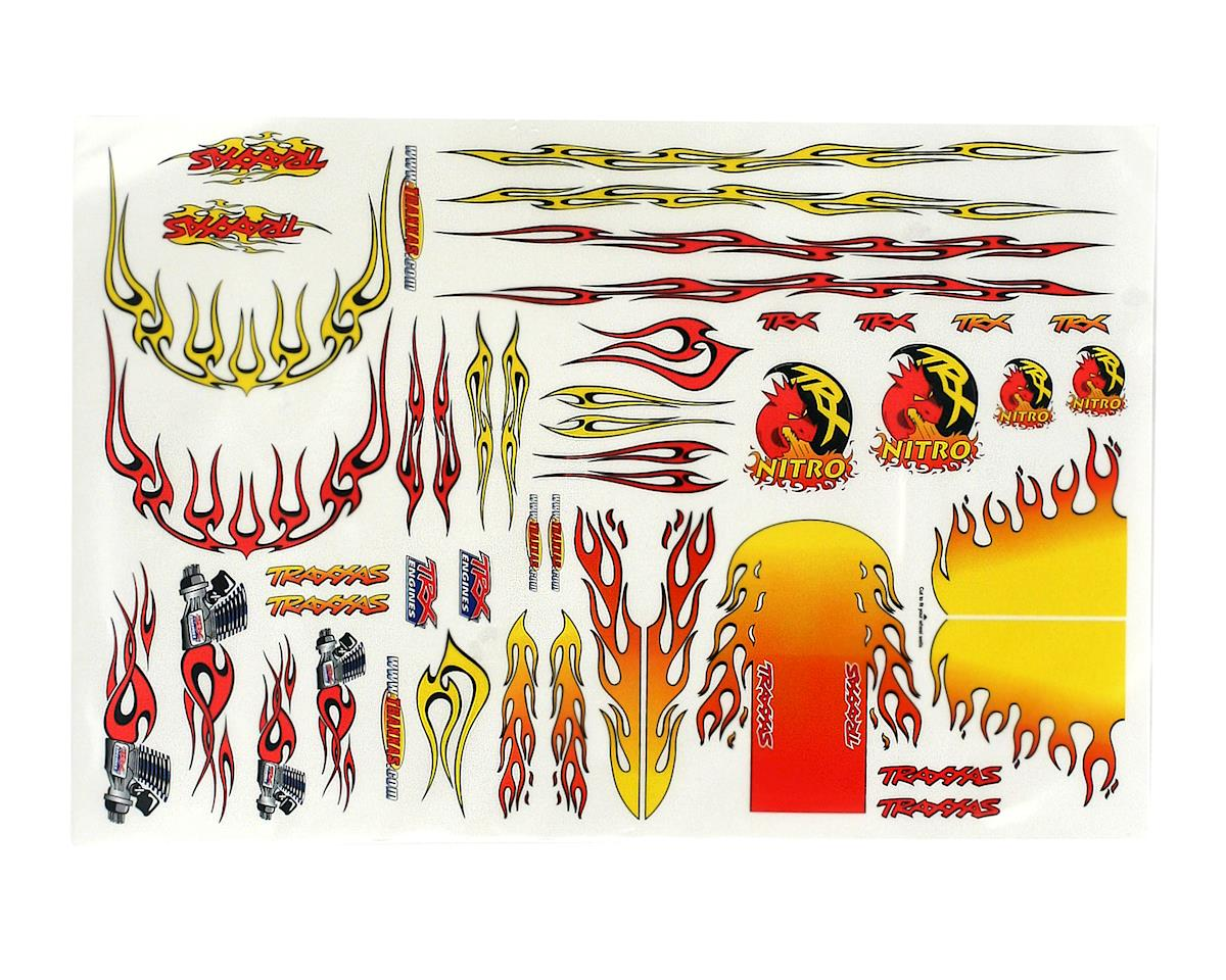 E-Maxx Flames Decal Sheet by Traxxas