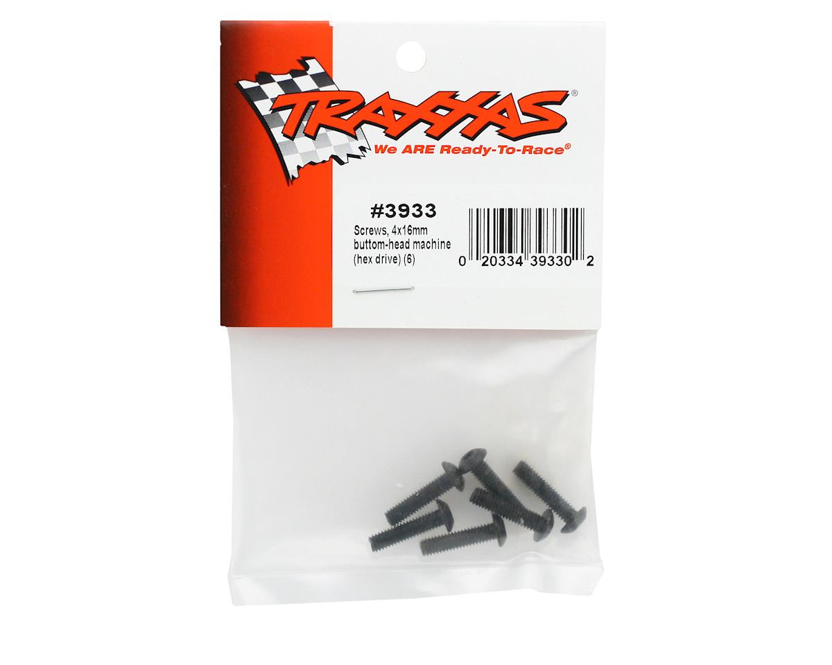 Traxxas 4x16mm Button Head Screws (6)