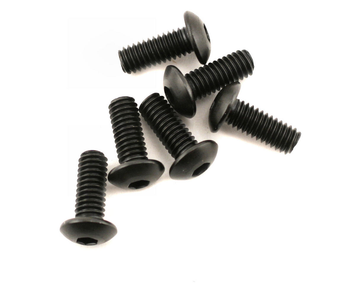 Traxxas 4x10mm Button Head Machine Screws (6)