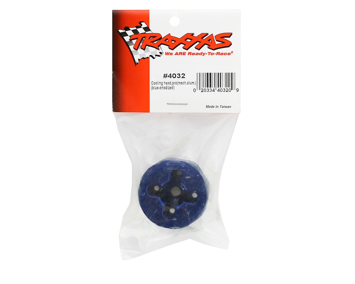Traxxas Pro-15 Cooling Head (Blue)