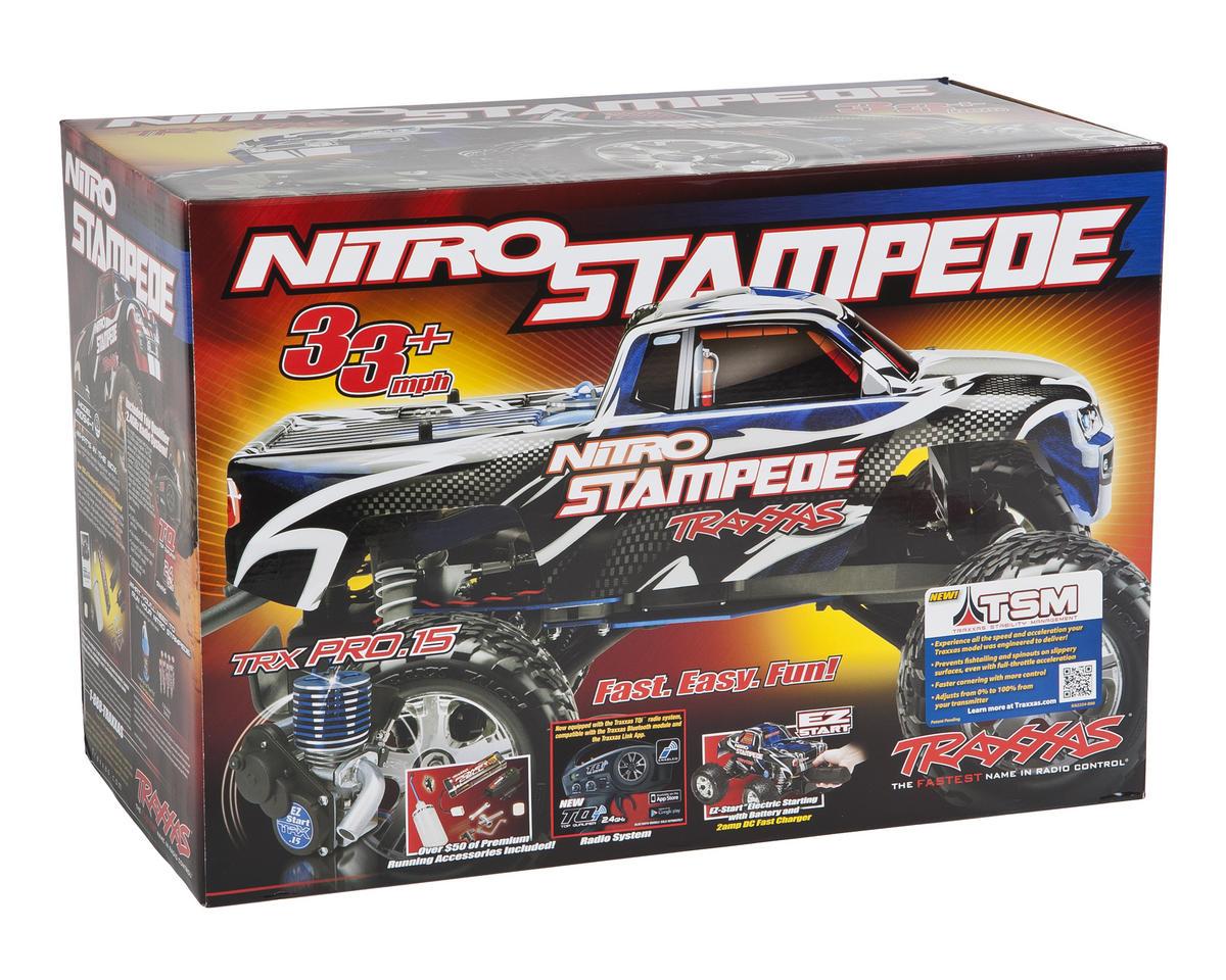 Traxxas Nitro Stampede 1/10 RTR Monster Truck
