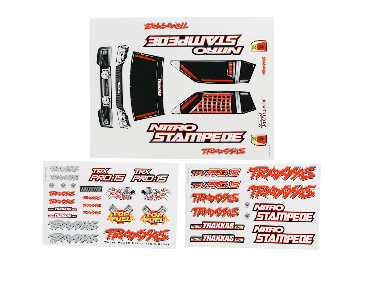 Traxxas Decal Sheets Nitro Stampede