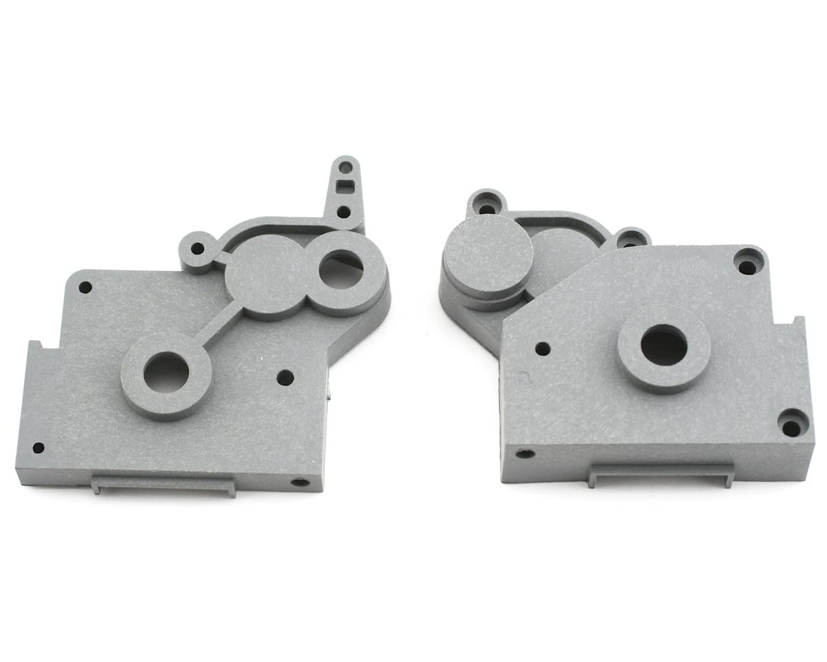 Traxxas Gearbox Halves (Left & Right) (Grey)